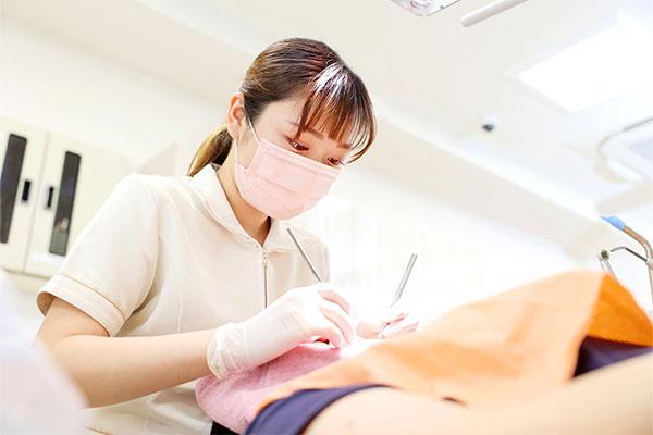 「歯を削る長を少ない」治療